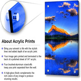 Custom Decoration Wall Banner Acrylic Sheet Photo Printing