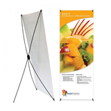 Cheap Factory price X banner stand 60*160/ 80*180cm for advertising  from HOHI