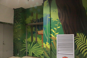 Factory directly high quality UV printing customized wallpaper 3D wallpaper for decoration