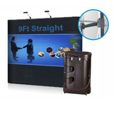 3ft 8ft 10ft 20ft portable advertising pop up stands pop up displays for trade show