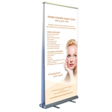 2018 New wedding party banner stand retractable catapult stands for wholesale