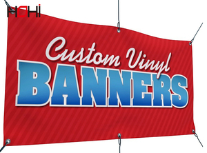 EXW custom all size large and small vinyl  banner poster for advertising party birthday