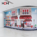 HIgh quality factory supply directly customized3D wallpaper for children bedroom decoration