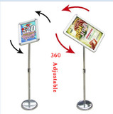 High quality factory supply A3 A4 Size floor standing poster display Advertising Promotion Usage