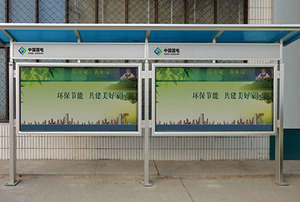 1440DPI UV printing image on aluminium advertising board signage outdoor