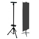 High quality Custom adjustable advertising tripod bunting tripod poster banner stand