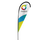 Best quality ourdoor advertising flying teardrop banner