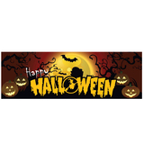 Factory happy halloween banner printing outdoor banners for advertising