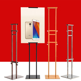 Adjustable portable high quality poster banner stand